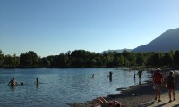 Promenade confort : Lac de Carouge